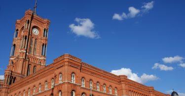 Das Rote Rathaus von Berlin
