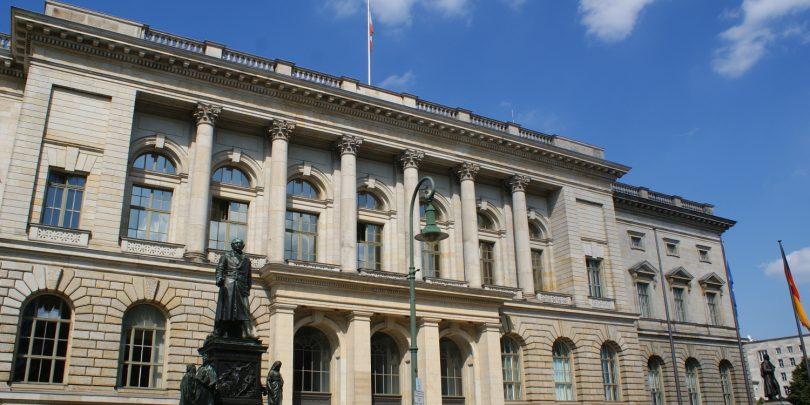 Das Berliner Abgeordnetenhaus