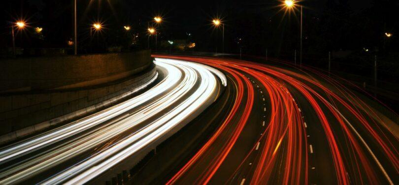 Verkehr Autobahn
