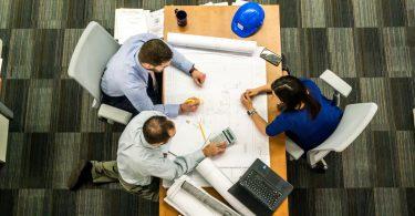 Baubereich, Ingenieure, Architekten