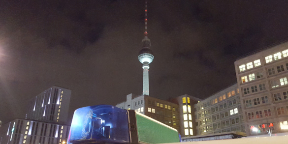 Polizei Berlin Nacht