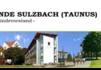 Sulzbach Taunus